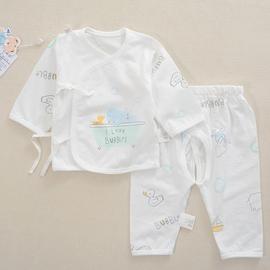 安美熊新生婴儿衣服宝宝纯棉内衣套装绑带和服开档套0-3个月宝贝图片
