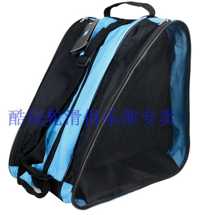 Coldplay three-layer pack skate bag can hold a full set of skates backpack thickened Roller Skate Bag triangle bag for men and women