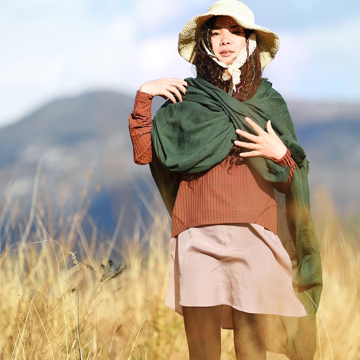 Женские шарфы из хлопка Артикул 567544474269