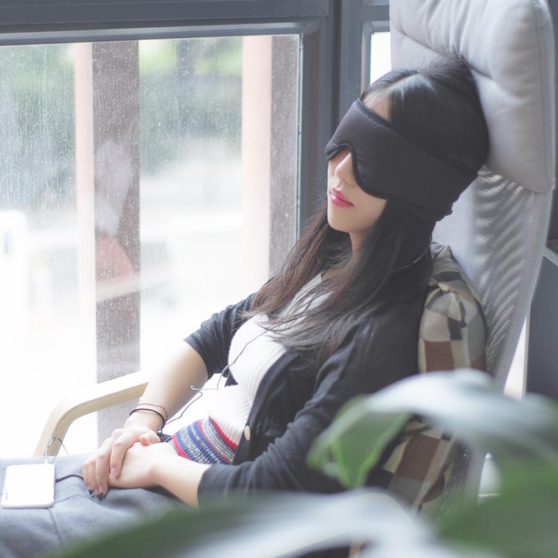 Sleepace наслаждаться сон спальный умный музыка очки уютный ложиться спать воздухопроницаемый кожа не пресс ухо наушники