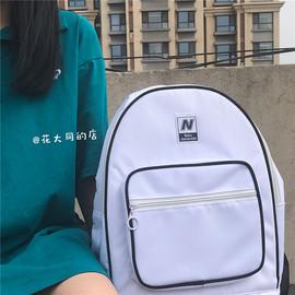 韩国ins复古学院风大容量背包日系原宿ulzzang中学生书包女双肩包