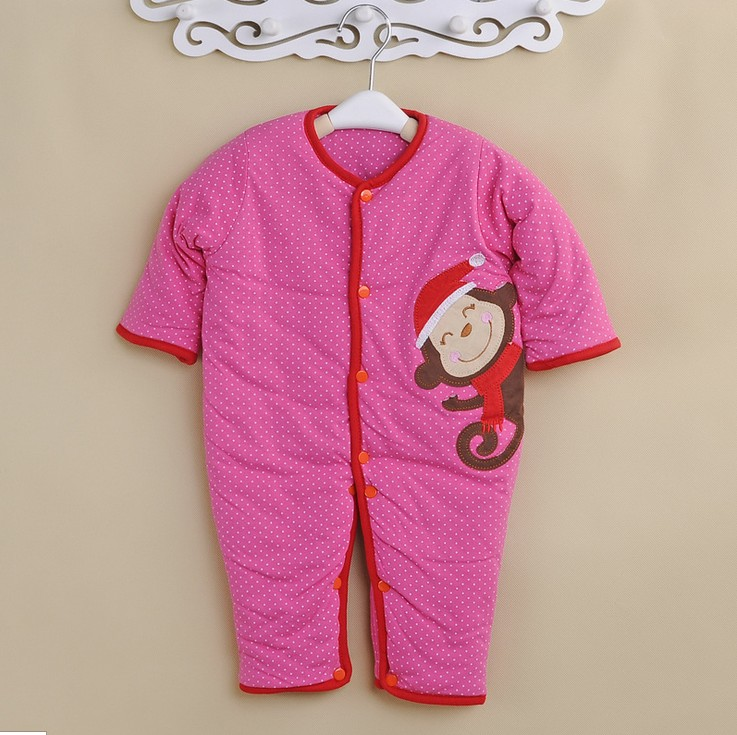 Angel sister baby one-piece Romper can be opened completely