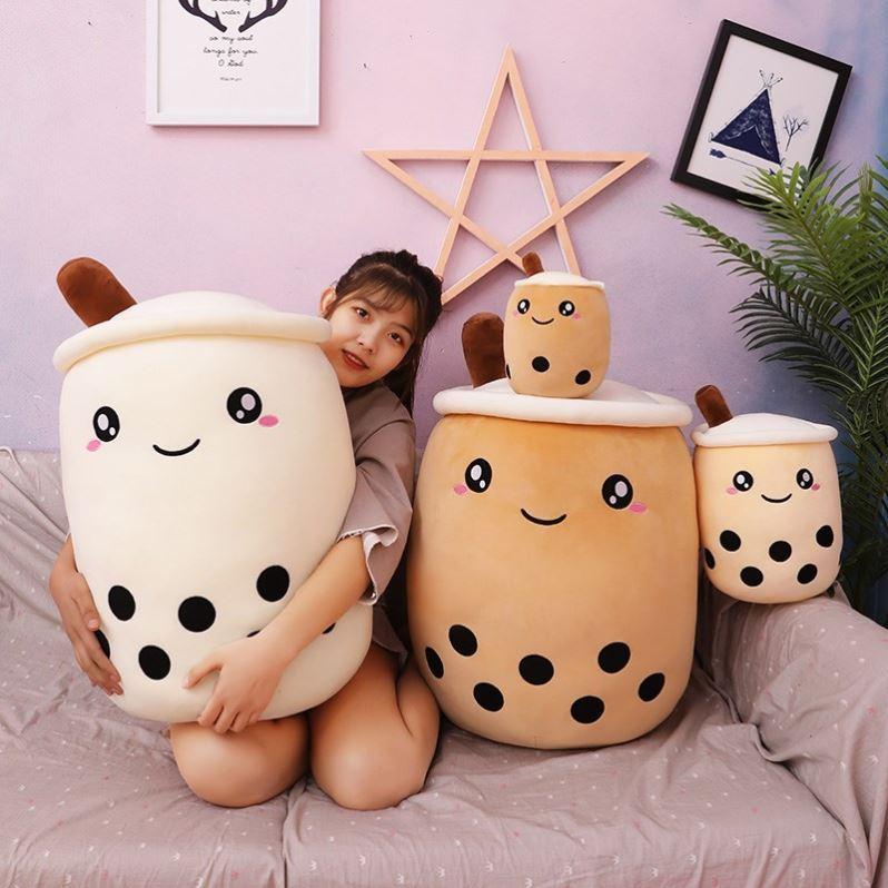 中國代購 中國批發-ibuy99 日用杂货 棒棒熊日用杂货店棒棒熊玩具店创意可爱奶茶杯毛绒玩具公仔抱枕2