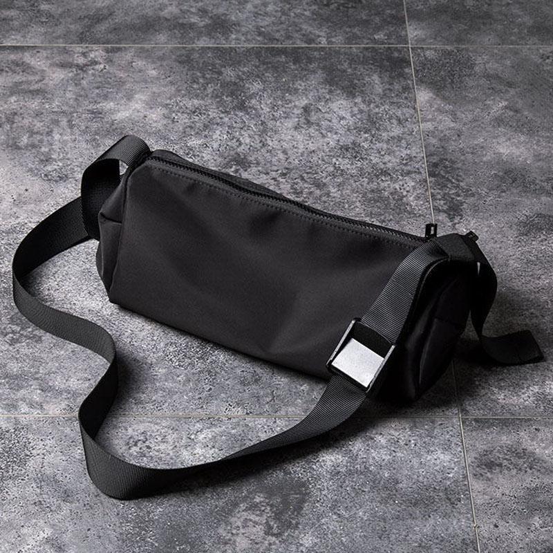 New womens Single Shoulder Messenger Bag simple large capacity hip hop fashion versatile cylinder waterproof schoolboy backpack fashion