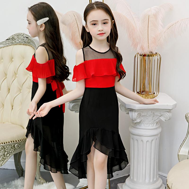 女童连衣裙2020新款夏装儿童洋气童装夏款公主裙网红小女孩裙子夏