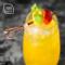 100支剪刀型鸡尾酒签 马天尼橄榄签 装饰竹签水果签鸡尾酒装饰