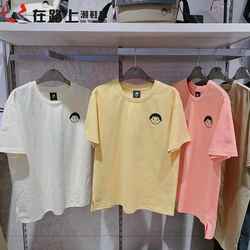 New Balance/NB 联名Noritake 男女纯棉短袖T恤AMT02378 AWT02379图片