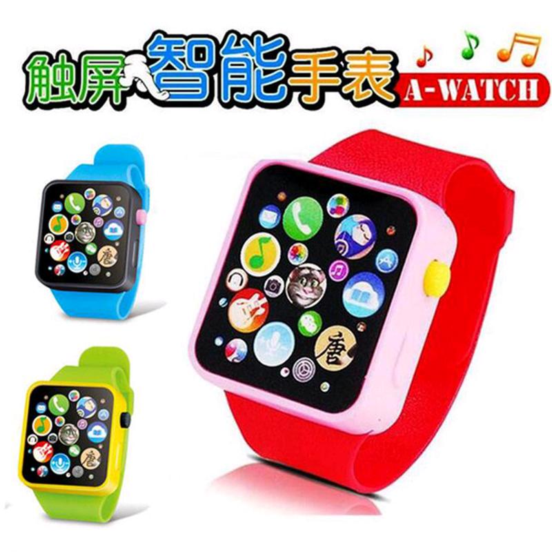 Каждый день специальное предложение ребенок игрушка наручные часы обучения в раннем возрасте смартфон стол музыка игрушка наручные часы может говорить история поэзия спойте песню
