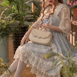 莫伊拉优雅斜挎包手提包带盖单肩女包简约cla花嫁超轻包信封青年