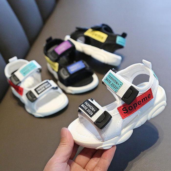 男童凉鞋2020新款儿童鞋女宝宝鞋子软底休闲鞋男孩沙滩鞋运动凉鞋