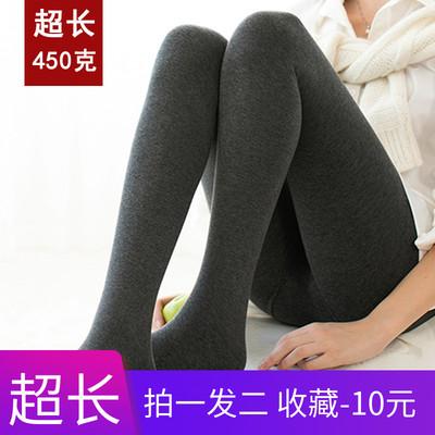 170女生加长打底裤女高个子超长外穿女裤加长连裤袜秋冬加绒加厚