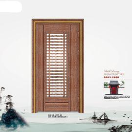 定制香港环球装甲门原古铜锌镁合金单门安全防盗门门中门进户大门图片