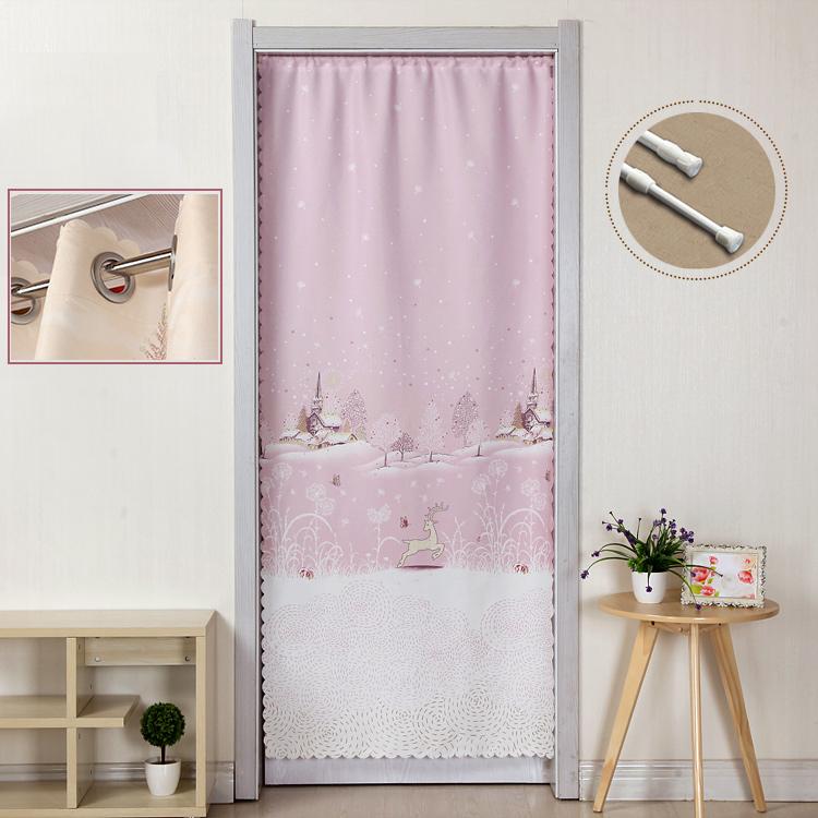 Занавес ткань спальня домой сельская местность легко свежий декоративный гостиная ворота ванная комната отрезать занавес половина занавес долго занавес