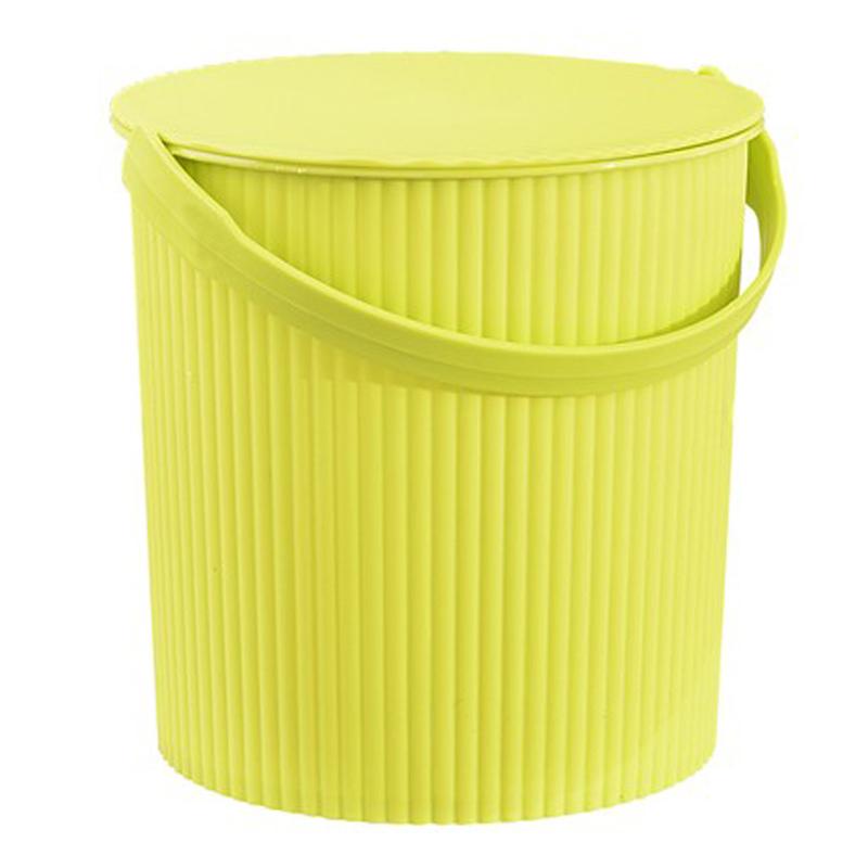澡筐桶洗澡桶特价洗浴收纳桶储物桶带盖条纹塑料澡桶手提桶鱼水桶