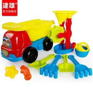 建雄儿童沙滩玩具套装桶沙漏男孩宝宝挖沙铲子玩沙子决明子工具