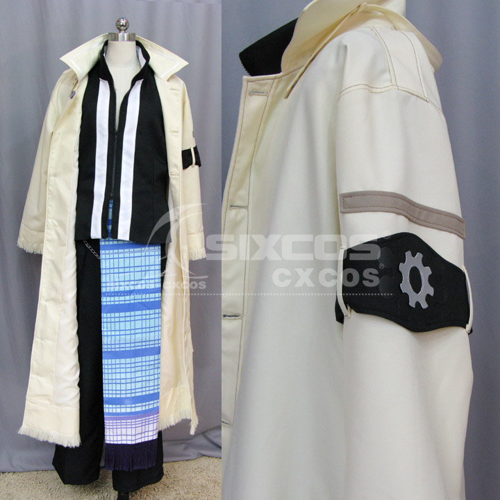 ファイナルファンタジーXI 13-Snos衣装カスタマイズFFX 13-Snow Villiers Cosplay