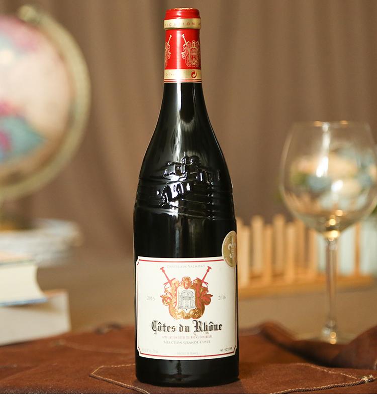 绿腰生活 五岳散人推荐 法国红酒 罗纳河谷产区 佩洛妮干红葡萄酒