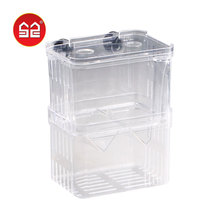 Incubation box Sen. Peacock Fish breeding box young fish fish tank isolated bucket Fish fry spawning device tropical acrylic