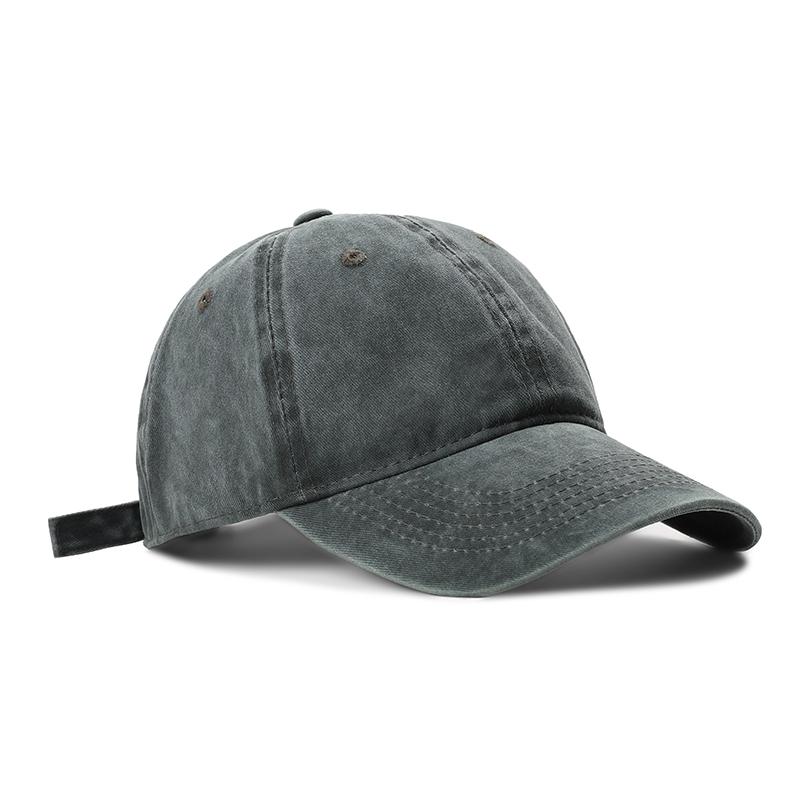 帽子女鸭舌帽软顶韩版ins百搭水洗纯色棒球帽休闲男士日系牛仔帽