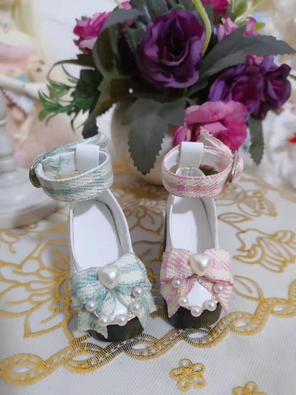 BJD 4-point shoes giant baby girl 4-point shoes MSD Xiong Mei MDD rabbit Mei Xinyi high heeled shoes