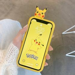 可爱卡通苹果11pro max手机壳iphonexs支架xr趴趴8plus硅胶x女7p