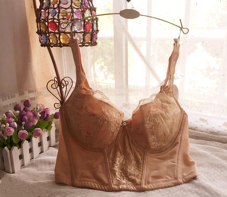 美容院束塑身型塑胸调整矫正美体内衣大码收胃长款文胸带胸罩杯