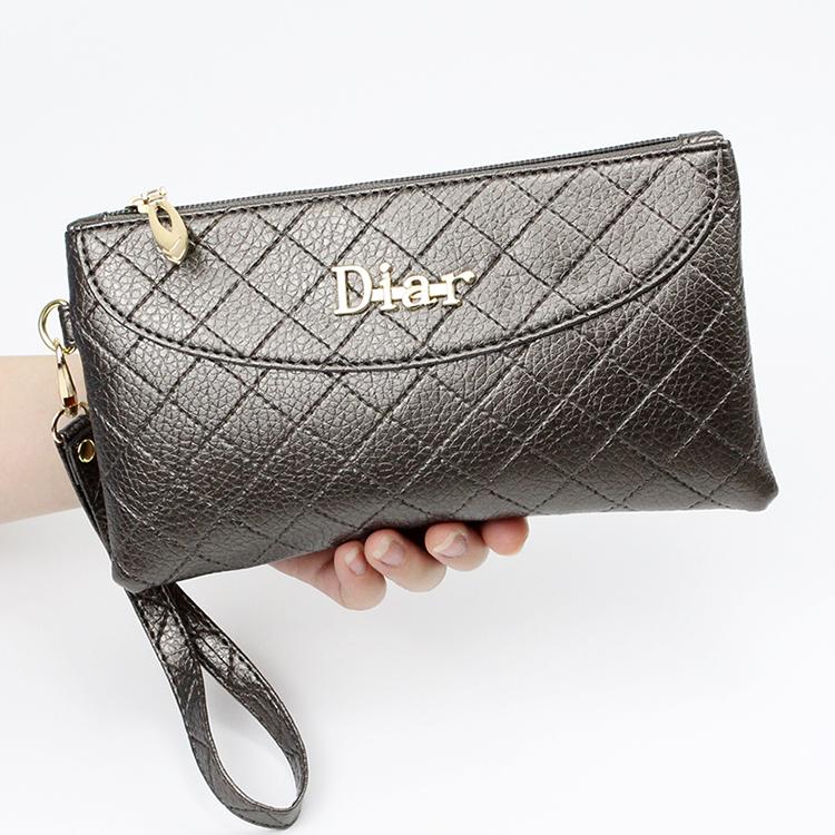 天天特价2018新款女式小方包手拿包简约女钱包手机包零钱女士包包