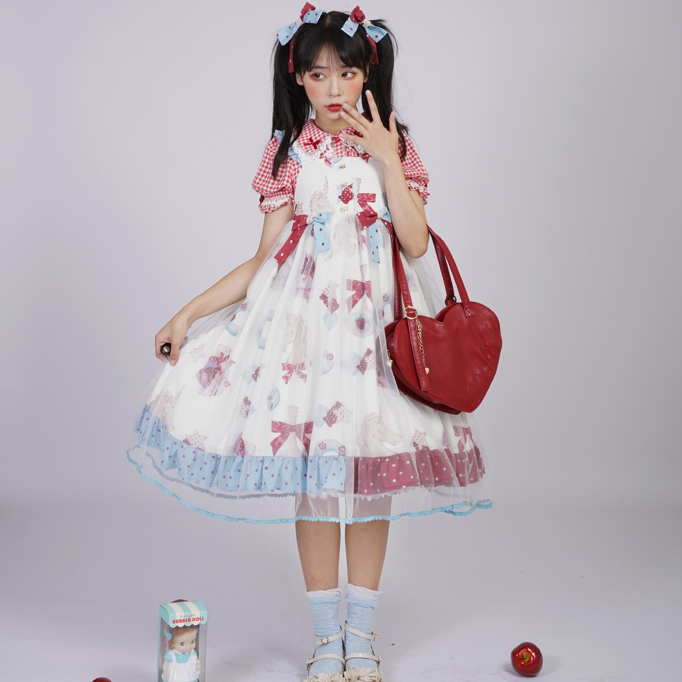 [curvy horse head] [full stock] Galaxy Lolita Dress lovely girl dress Lolita