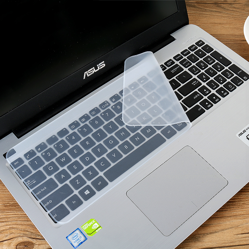 满9.9包邮联想华硕苹果笔记本电脑键盘保护贴膜13-14寸通用防尘罩