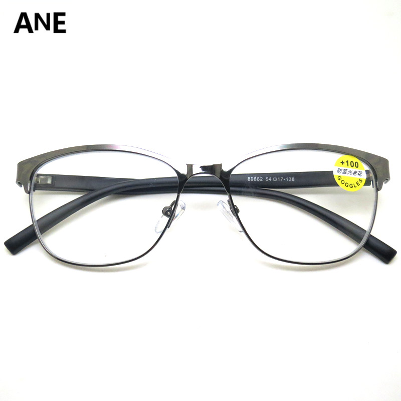 Ane glasses reading glasses reading glasses womens farsighted glasses anti blue light computer lens business office standby