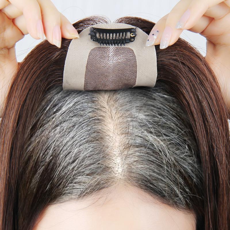 头顶补发片女增发量稀少遮盖假发片限2000张券