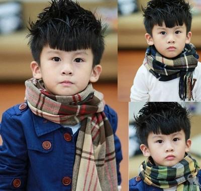Ребенок шарф кашемир мальчиков корея осень и зима корейский девочки сетка отцовство дикий ребенок ребенок нагрудник зима
