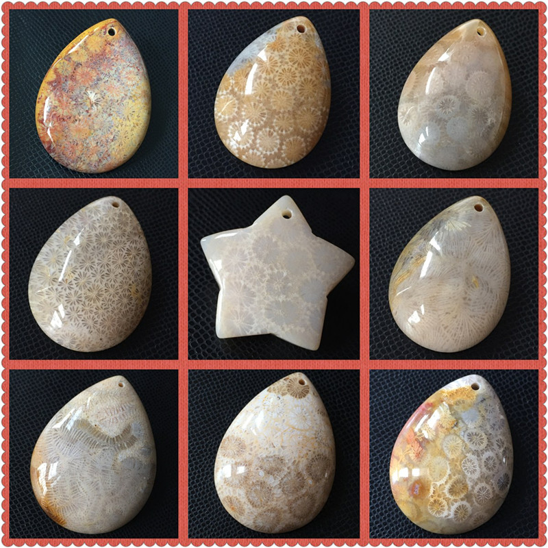 Yipin Zhenshi Museum Indonesia coral jade original stone head ornament natural chalcedony factory clearance special price free mail pendant 3