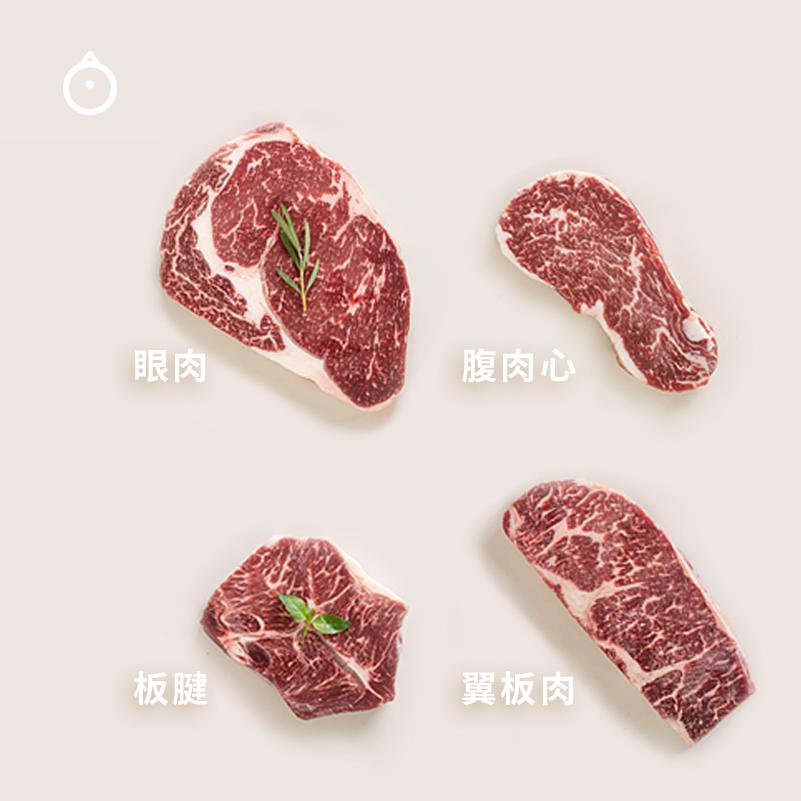 m3牛排品鉴套装板腱+腹肉心+四块11月03日最新优惠