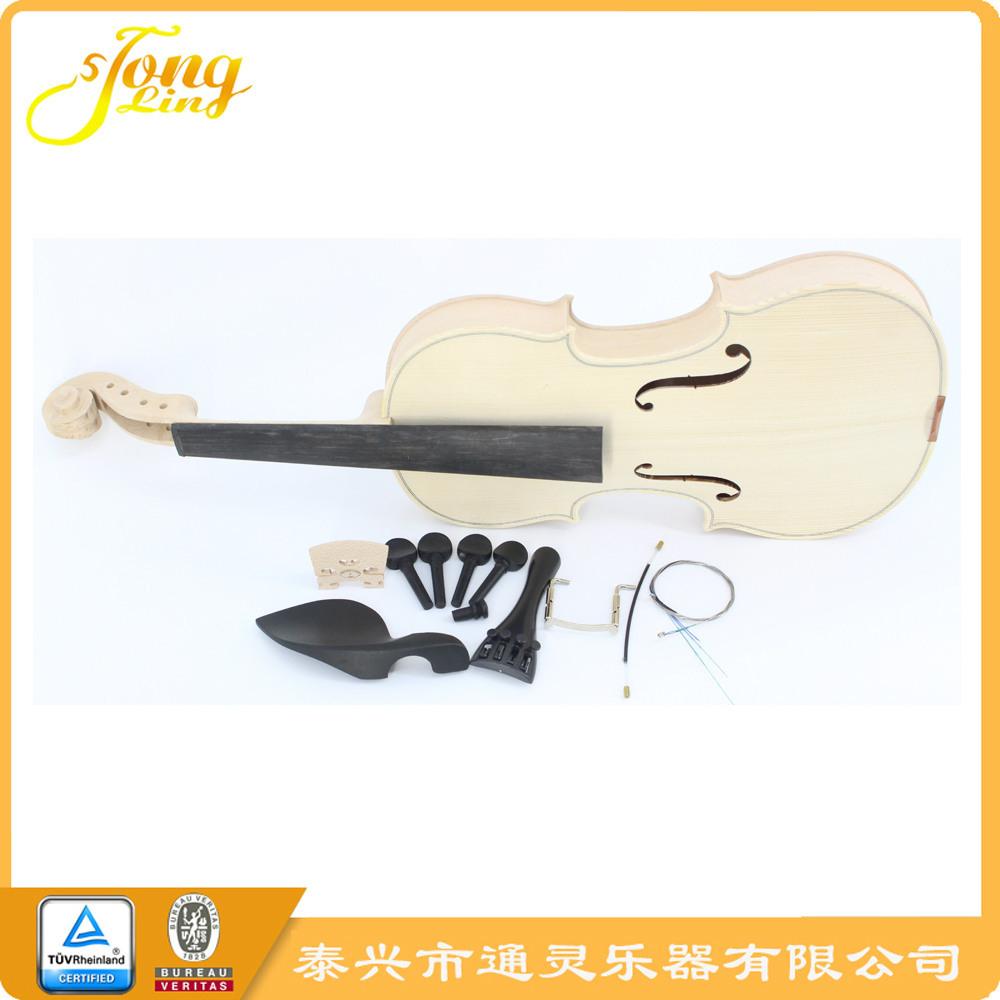 泰兴通灵白坯小提琴 普及白坯提琴 半成品 批量生产