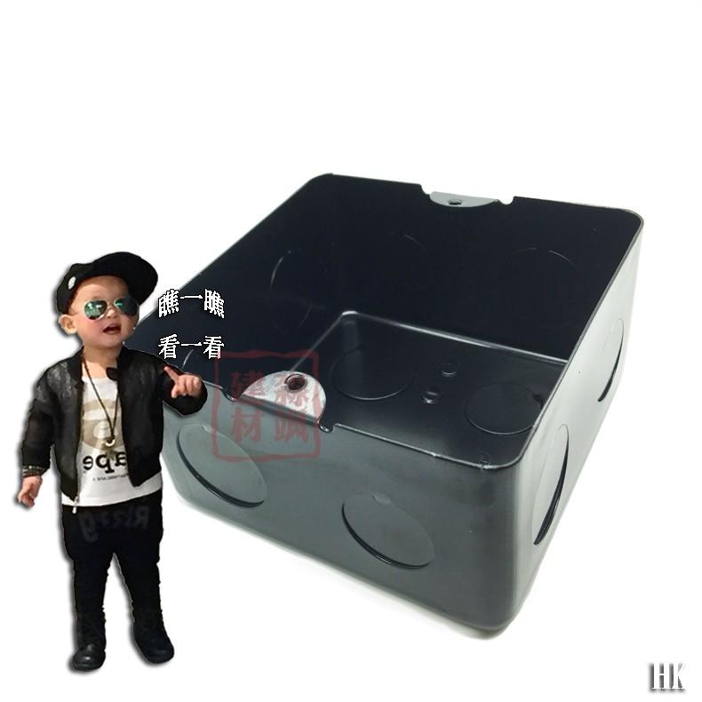 10*10 темно черный ящик антикоррозийный вставленный коробка вставленный конец коробка общий земля поверхность этаж вставленный сиденье база олово