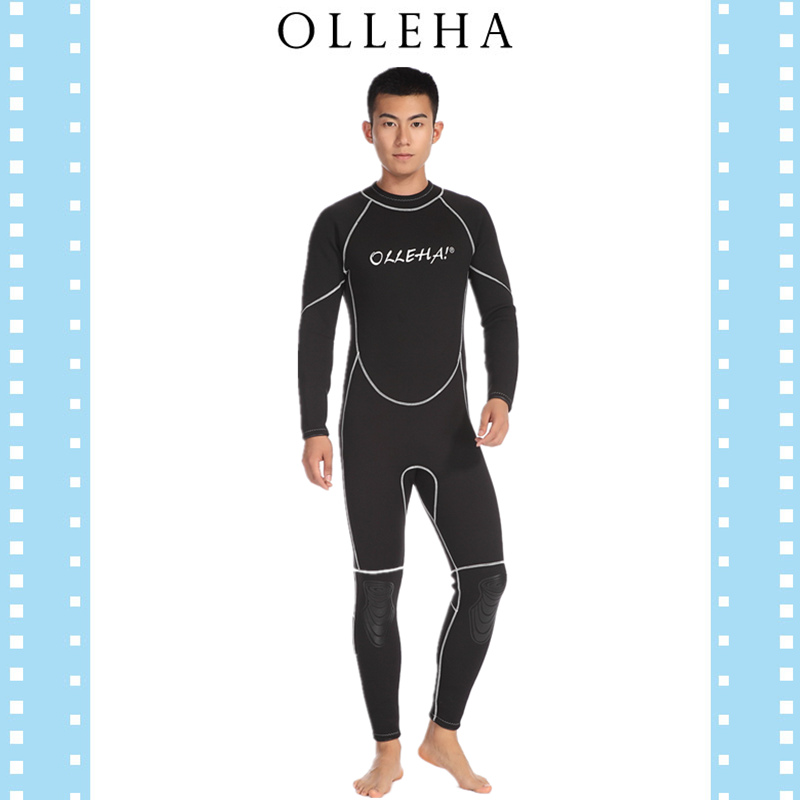 Final clearance 3mm thick diving suit mens deep diving mothers suit Deep Sea warm swimming suit cold proof in autumn and winter