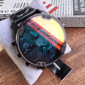 2020新款非机械大表盘手表男韩版防水偏光钢带个性学生潮时尚腕表