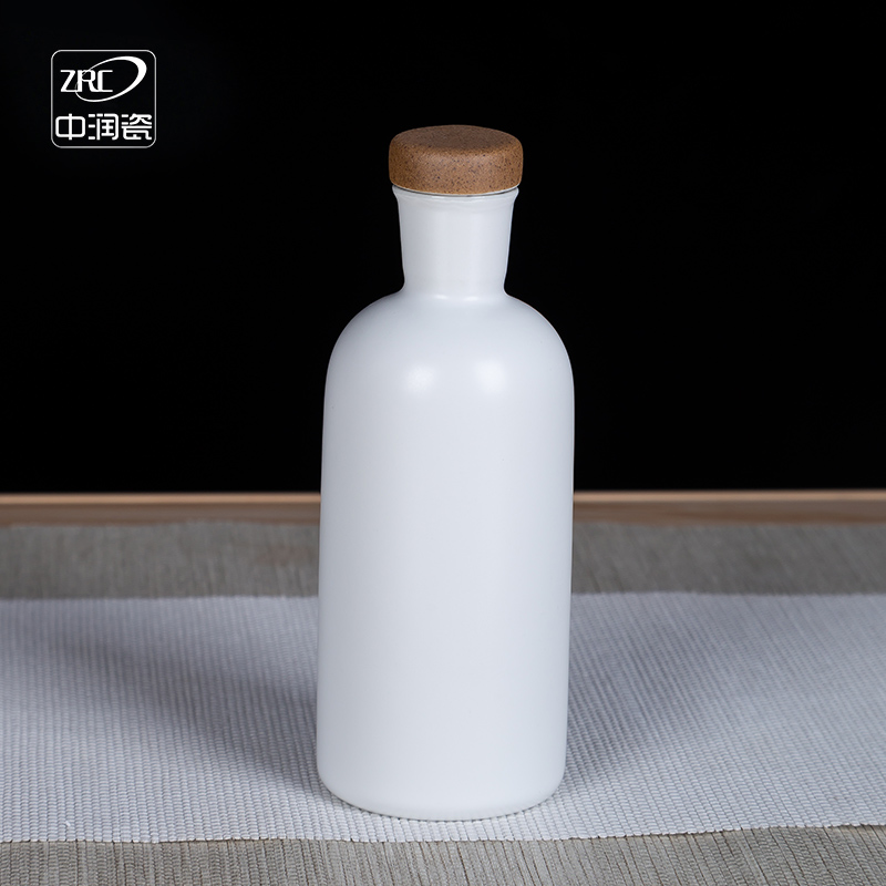 (用17元券)景德镇陶瓷酒瓶二两装小白瓶白酒瓶小酒壶空瓶子创意密封酒坛定制