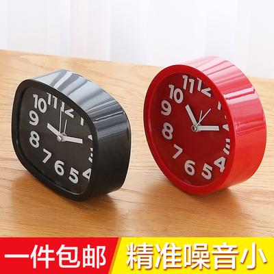 台式创意个性学生儿童钟表床头静音石英钟桌面小摆件闹钟电子时钟