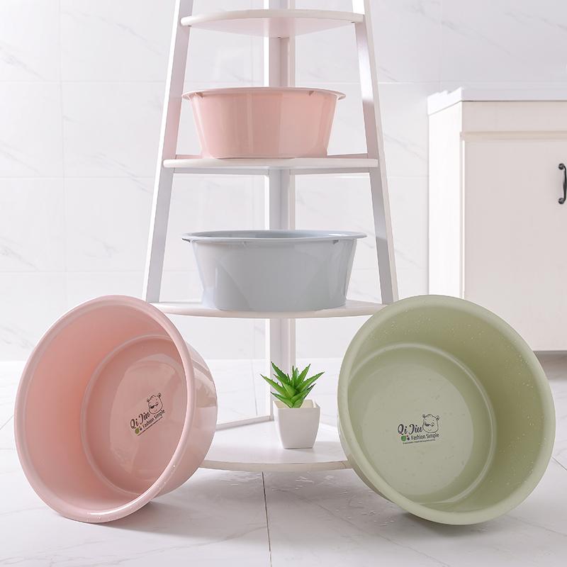 Творческий и прекрасный утепленный Пластмассовая раковина для мытья посуды на младенца Раковина для умывальника для умывальника