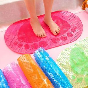 大号浴室防滑垫淋浴洗澡冲凉隔水脚垫卫生间厕所吸盘防滑垫子地垫
