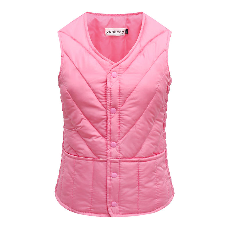 2020 spring and Autumn New Womens down cotton vest for keeping warm