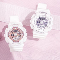 可爱ins电子表女中学生韩版少女防水原宿风运动李现杨紫同款手表