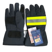 3 C Fire Gloves 3C certified Fire Gloves Firefighter Fire Protection Gloves ga7-2004 Standard Gloves