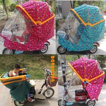 电动三轮车篷遮阳车棚可以进电梯的车蓬三轮折叠车篷电动车车鹏