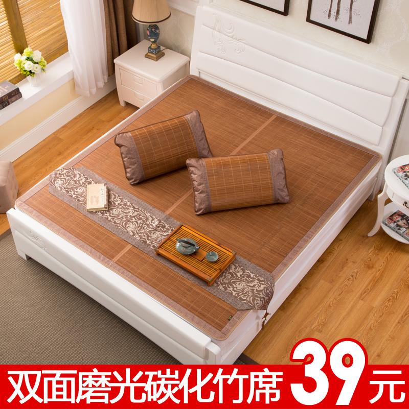 Коврик коврики дуплекс коврики комната с несколькими кроватями один бамбук коврик сложить обуглевание 1.8m кровать 1.5 метр 1.2 стандарт