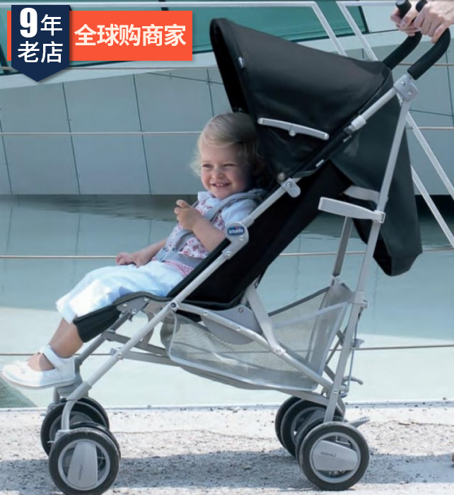Мудрость высокий chicco london легкий можете лечь может сидеть ребенок тележки зонт автомобиль дети ( только вес 7.2kg)