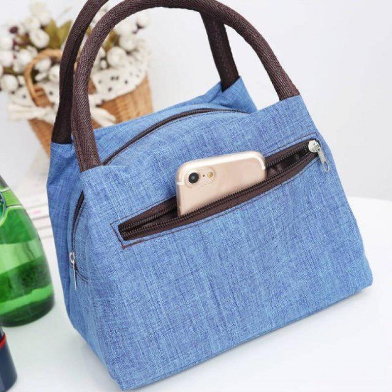 Pocket bag Canvas Handbag canvas bag rice box handbag womens bag Oxford cloth bag mummy bag bag small storage bag