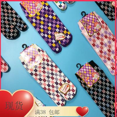 日本和服襪女襪分指日式短襪日本兩趾木屐襪腳趾分趾襪子個性搞怪
